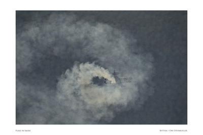 Plane in Smoke