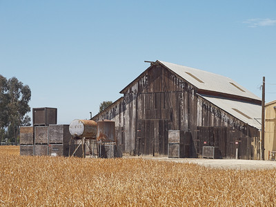 Old Barns Color